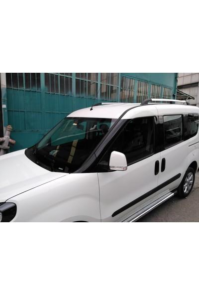 Yavuz Otomotiv Fiat Doblo 2008-2019 Sonrası Port Bagaj Tavan Barı Çıtası Alu Nik