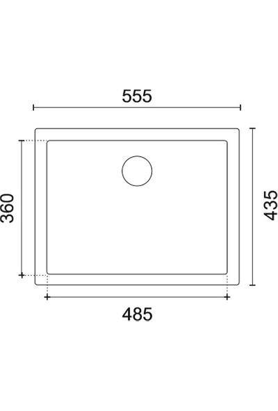 Viviano Granit Evye 44 x 56 Mermer Altı Beyaz