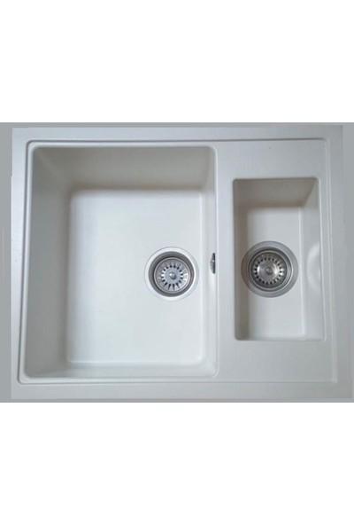 Viviano Granit Evye 50 x 60 1,5 Göz Beyaz