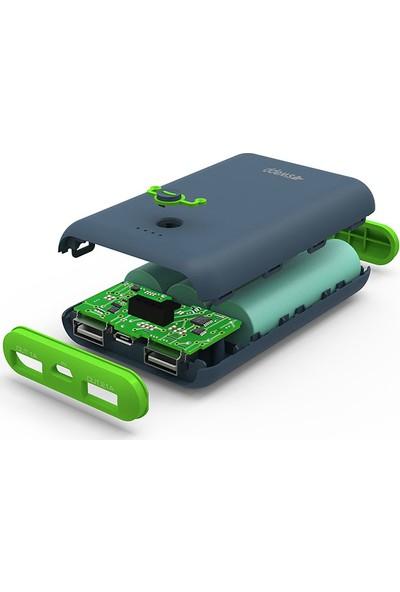 S-Link Swapp IP-S75 7500 mAh UltraFast Powerbank - Yeşil