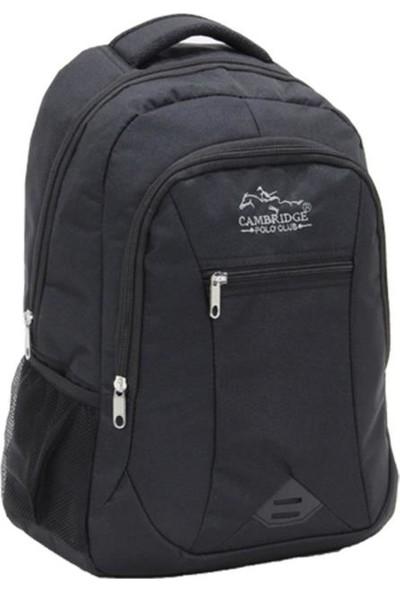 Cambridge Polo Club Sırt Çantası PLCAN1743 Siyah