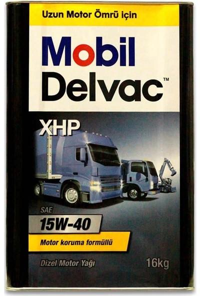 Mobil Delvac XHP 15W-40 Dizel Motor Yağı 16 Litre ( Üretim Yılı: 2021 )