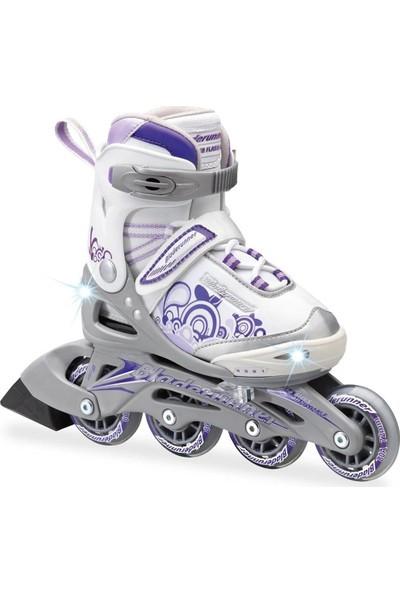 Rollerblade Bladerunner Purple Işıklı Ayarlanır Kız Çocuk Pateni