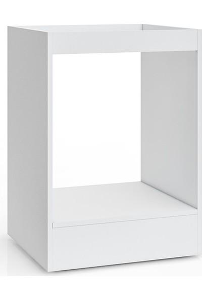 EsmaHome Üsküp Ankastre Modül Beyaz