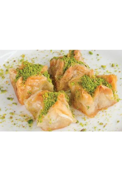 Hüseyinoğlu Baklava-Börek Antep Fıstıklı Gelin Bohçası Baklava Büyük Tepsi 3500 gr