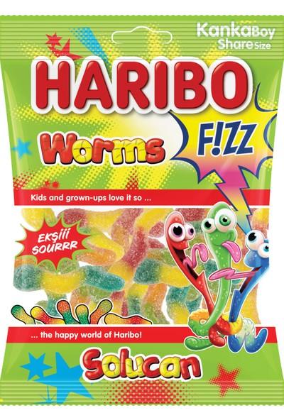 Haribo Fizz Solucan 70gr*24