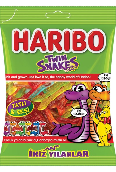 Haribo Twin Snakes 67 gr*24