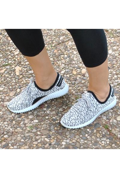 Hotanto Karin Beyaz Vegan Günlük Kadın Ayakkabı