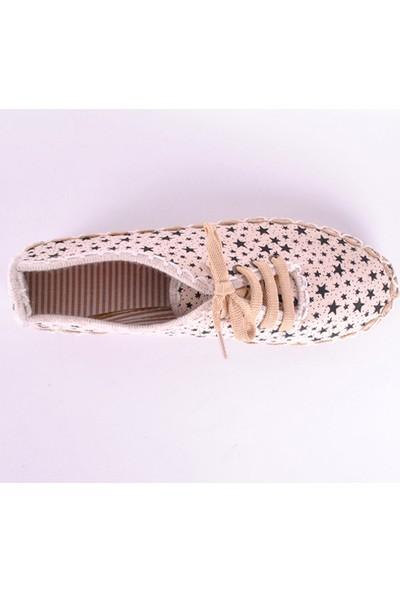 Hotanto Lola Krem Vegan Günlük Kadın Ayakkabı