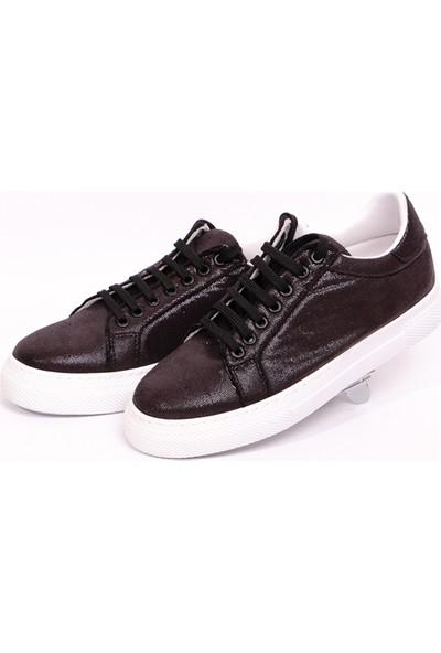 Hotanto Tomsen Siyah Vegan Kadın Günlük Sneakers
