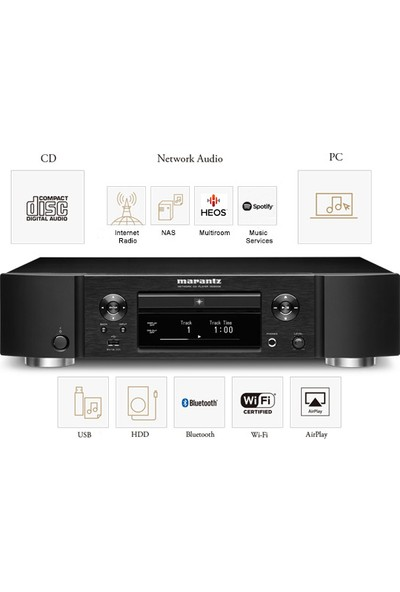 Marantz ND-8006 Network CD Player Bluetooth Airplay