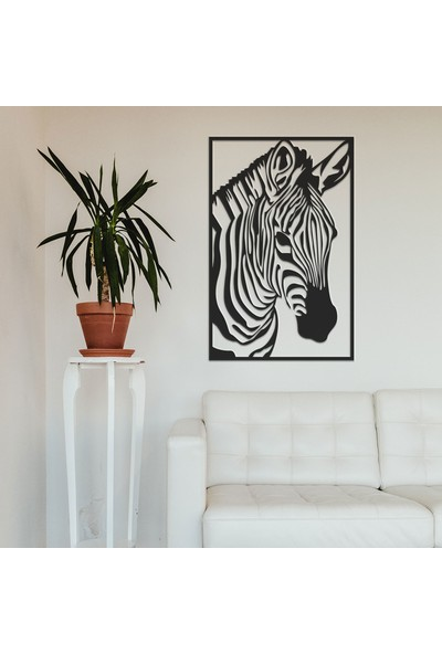 Tolary Zebra Metal Tablo