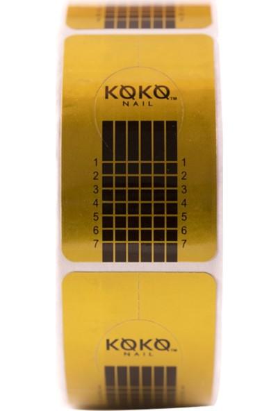 Koko Nail Protez Tırnak Şablonu