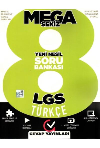 Cevap Yayınları 8. Sınıf Mega Sekiz Yeni Nesil Türkçe Soru Bankası