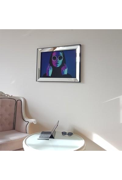 Neostill Ayna Çerçeveli Tablo Temperli Cama Uv Baskı T714