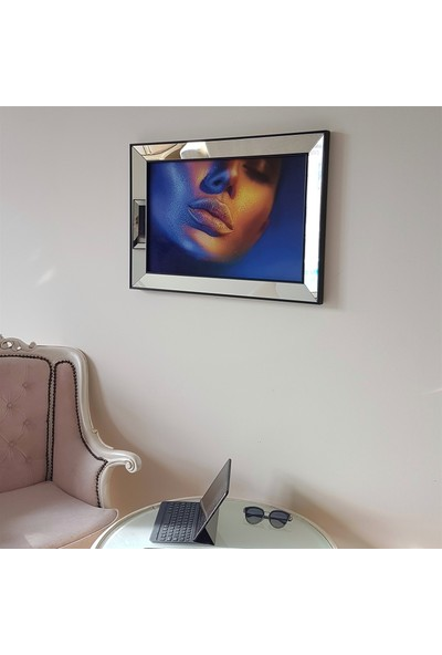 Neostill Ayna Çerçeveli Tablo Temperli Cama Uv Baskı T704