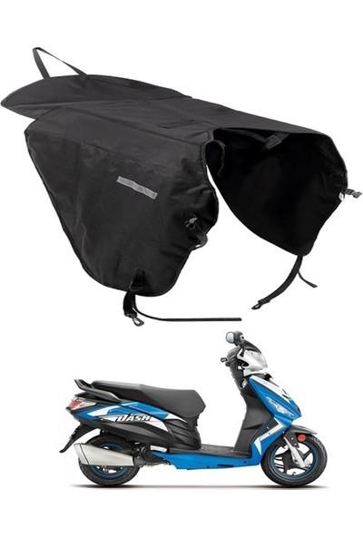 Ksburda Motosiklet Rüzgar Yağmur Koruyucu Su Geçirmez Diz Vücut Koruyucu Örtü