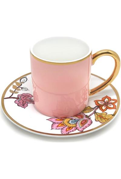 The Mia Dilaila Tekli Kahve Fincanı - Pembe