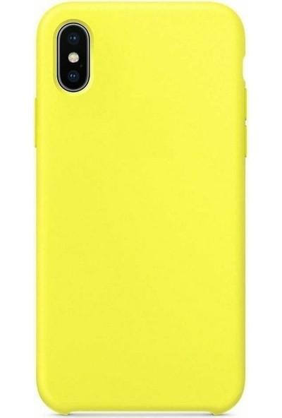 Gezegenaksesuar Apple iPhone X / XS Lansman Kılıf - Sarı