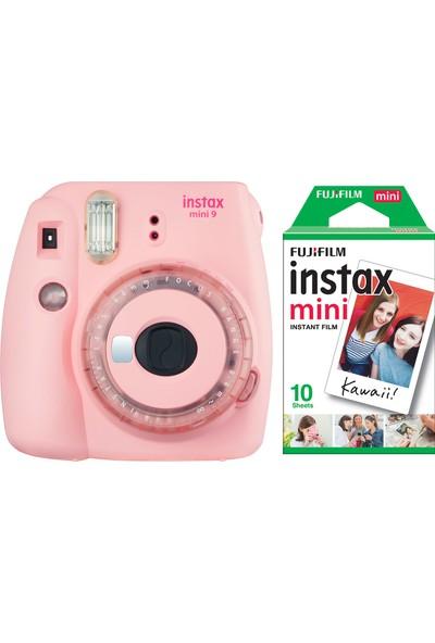 Fujifilm Instax Mini 9 Toz Pembe Limited Edition Fotoğraf Makinesi 10'lu Film