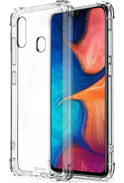 Buff Blogy Galaxy A20 Crystal Fit Kılıf Crystal Clear