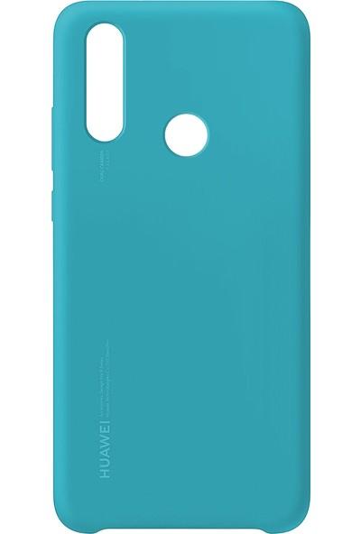 Huawei P20 Lite Silikon Kılıf Açık Mavi