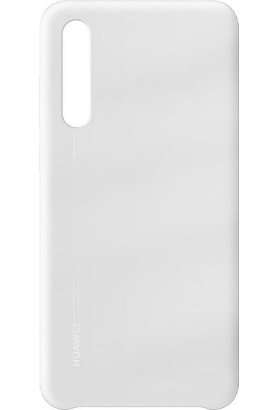 Huawei P20 / P20 Pro Silikon Kılıf Beyaz