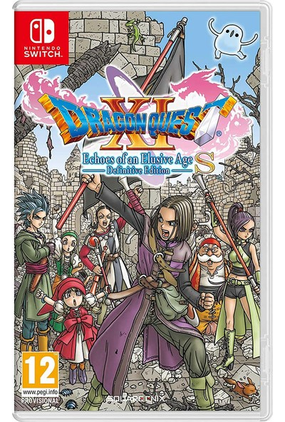 Dragon Quest XI S Echoes Of An Elusive Age Nintendo Switch Oyun