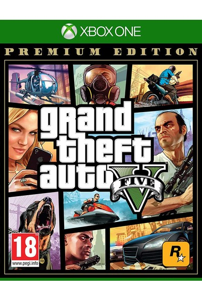 Grand Theft Auto V Premium Edition Xbox One Gta 5 Oyun