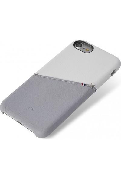 Decoded Apple iPhone 7 Plus Deri Kapak Kılıf - Gri