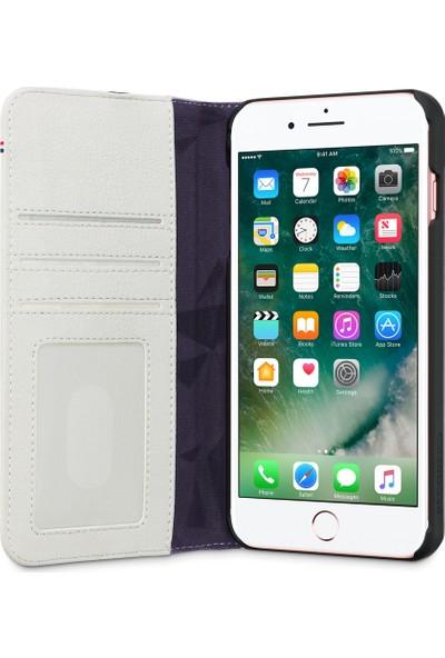 Decoded Apple iPhone 8 Deri Kılıf - Beyaz
