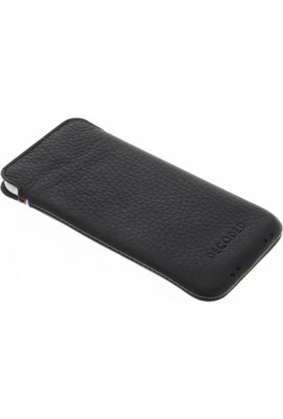 Decoded Apple iPhone 8 Plus Deri Kılıf - Siyah