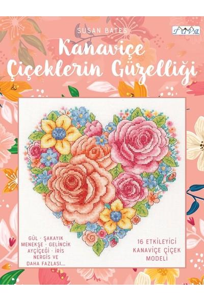 Kanaviçe Çiçeklerin Güzelliği - Susan Bates