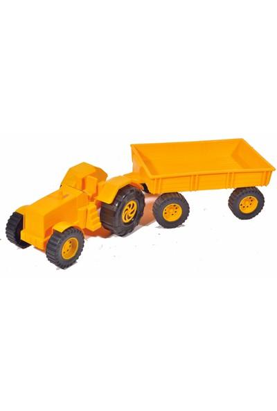 Gözdem Oyuncak Romörklü Traktör