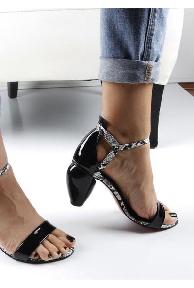 Veyis Usta Tek Bant Ahşap Topuklu Kadın 255