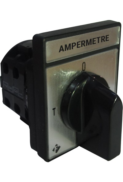 Federal Elektrik Ampermetre Komütatörü 3x20A