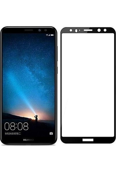 Nettens Huawei Mate 10 6D Full Kaplayan Ekran Koruyucu