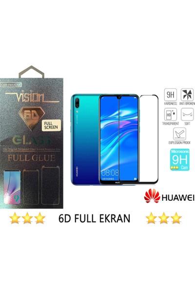 Nettens Huawei Y7 2019 6D Full Kaplayan Ekran Koruyucu