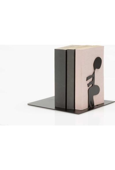 Koleksiyon Zal Kitap Tutucu Siyah