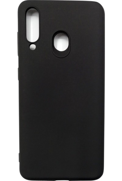 Ercan İletişim Samsung Galaxy M40/A60 Silikon Kılıf - Siyah