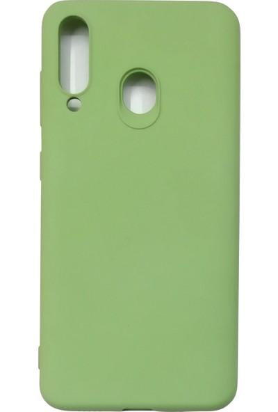 Samsung Galaxy M40/A60 Silikon Kılıf - Yeşil