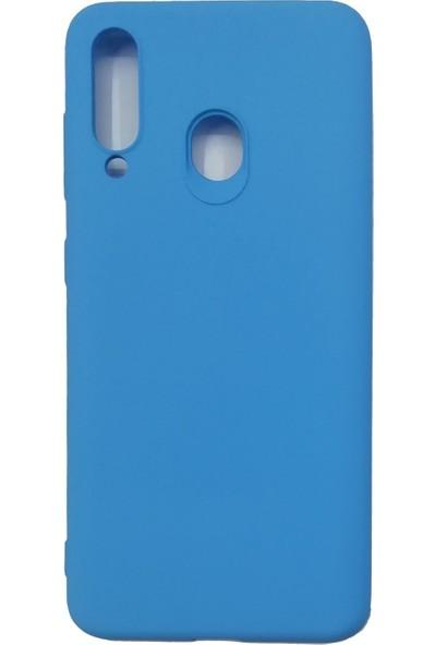 Samsung Galaxy M40/A60 Silikon Kılıf - Mavi