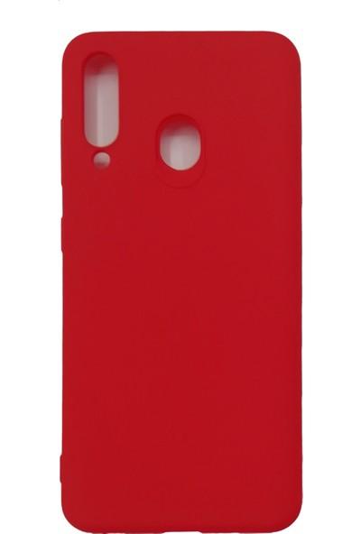 Samsung Galaxy M40/A60 Silikon Kılıf - Kırmızı