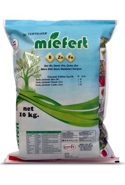 Meb Miefert Sebze ve Meyvelerde Verim Için Bor Demir Çinko Gübresi 10 kg
