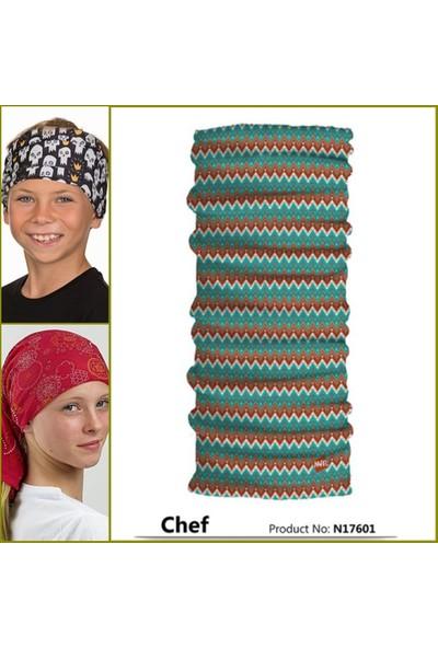 Narr Çocuk Bandana Chef