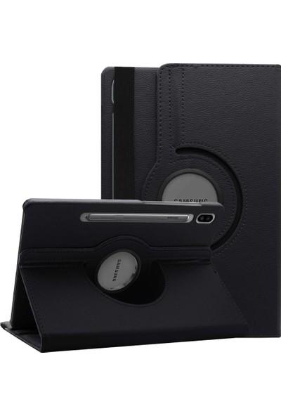 Fujimax Samsung Galaxy Tab S6 T860/T865/T867 360 Derece Döner Tablet Kılıf Siyah