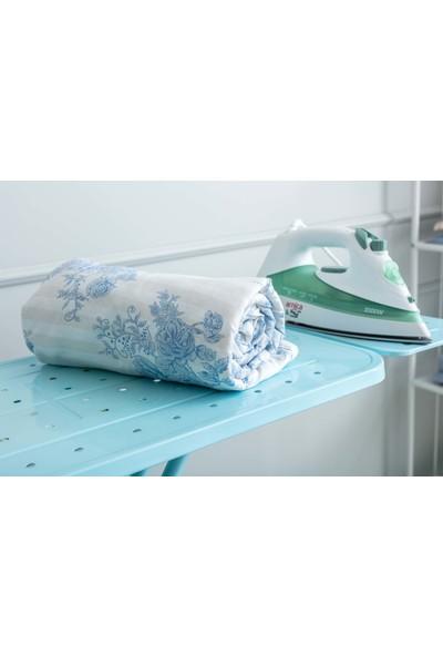 Favore Casa Hüner Keçeli Ütü Masası Kılıfı 60 x 140 cm Mavi