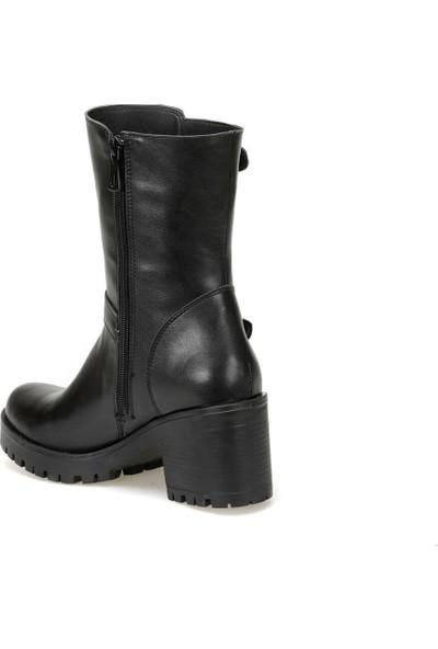 Butigo 19K-161 Siyah Kadın Topuklu Çizme
