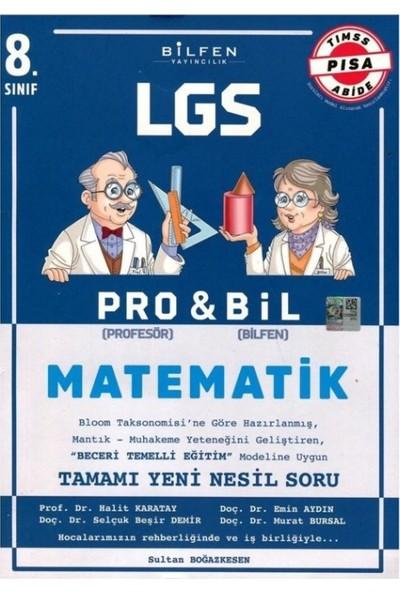 Bilfen Yayıncılık 8.Sınıf Matematik 8 Pro&Bıl Soru Bankası