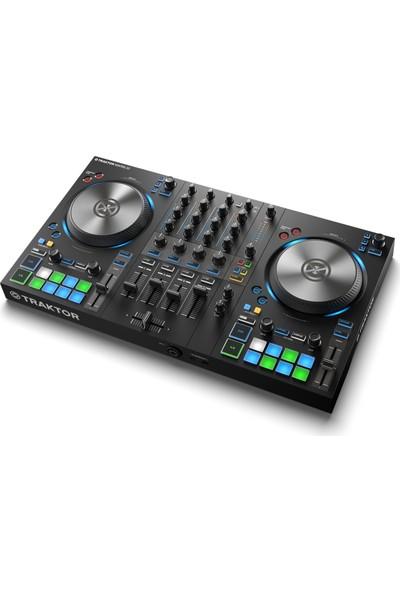 Native Instruments Traktor Kontrol S3 4 Kanal DJ Kontrolör (Traktor Pro 3 Yazılımı Dahil)